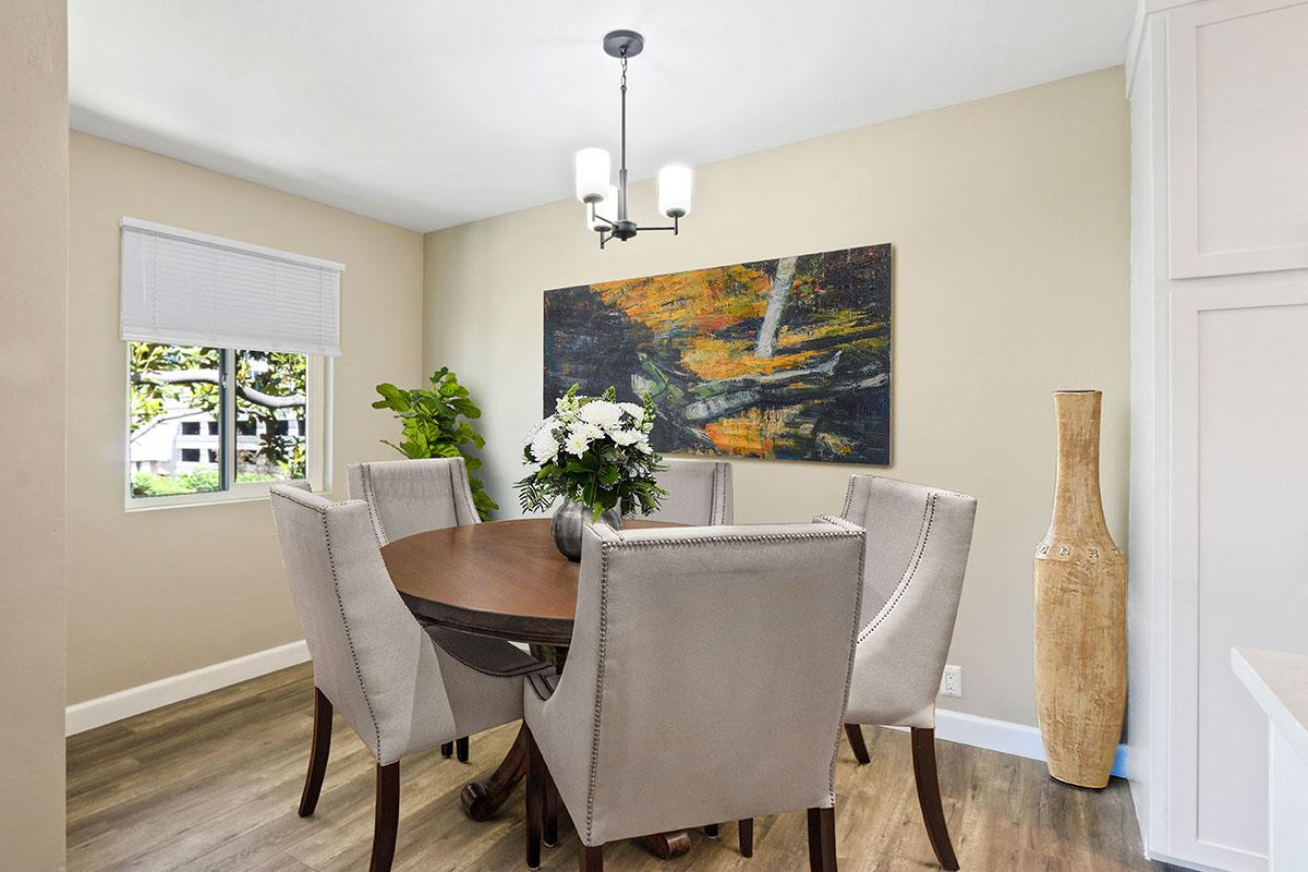 Great dining area at 720 Louise in Glendale, CA