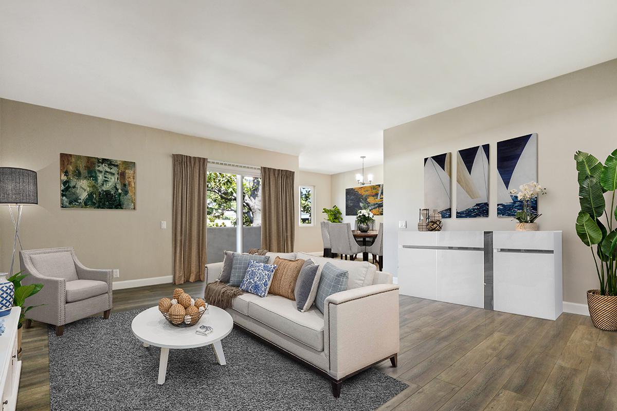 Open floor plans at 720 Louise