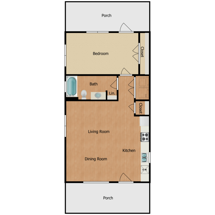 1A floor plan image