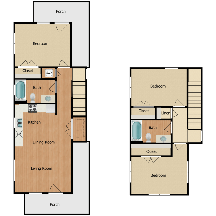 Floor plan image of 3C