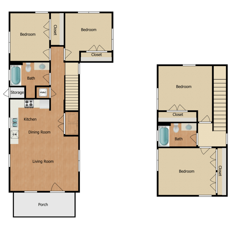 Floor plan image of 4A