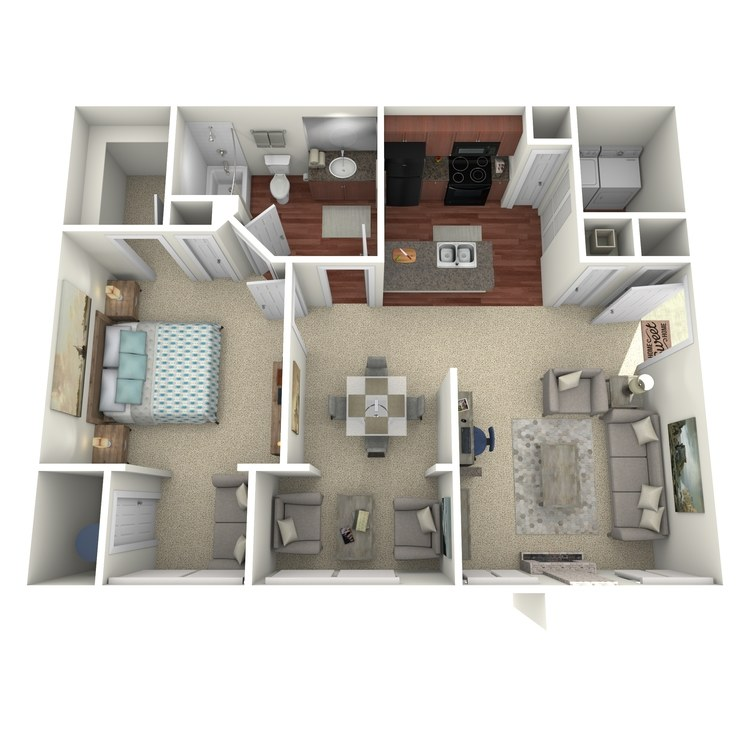 Floor plan image of The Ryan