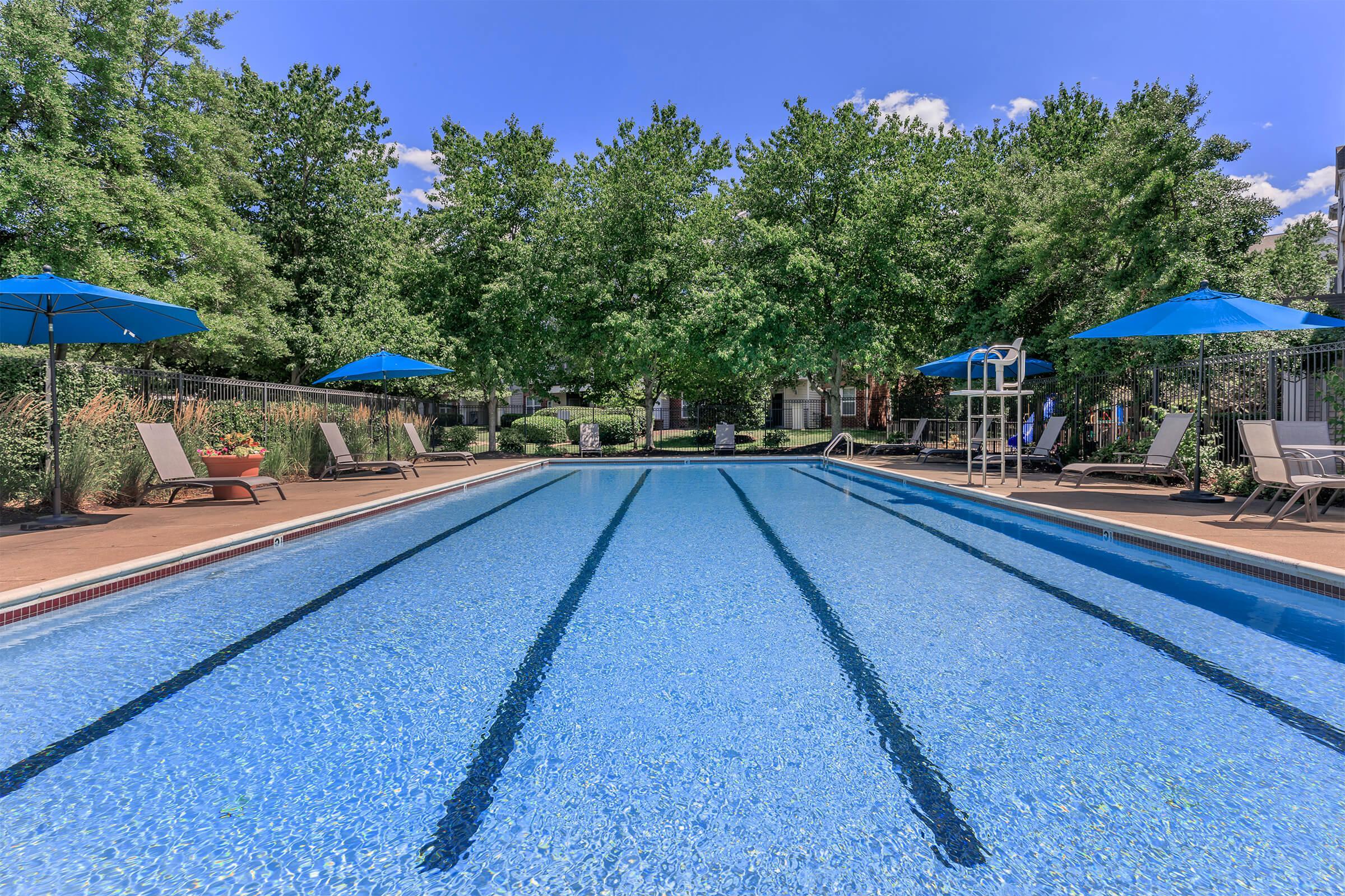 Pool at The Ridgeleigh at Van Dorn in Alexandria, VA