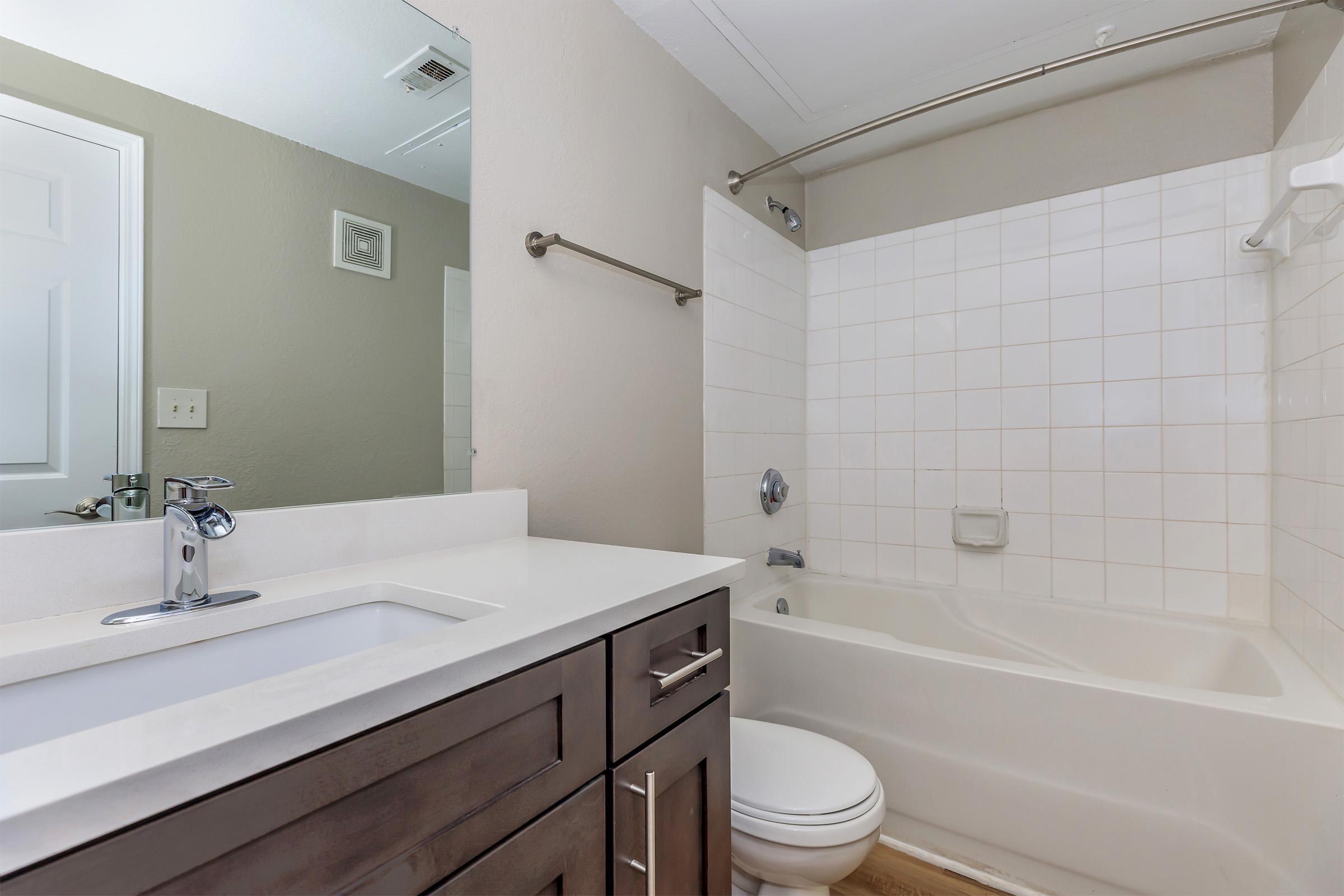 Bathroom at The Ridgeleigh at Van Dorn in Alexandria, VA