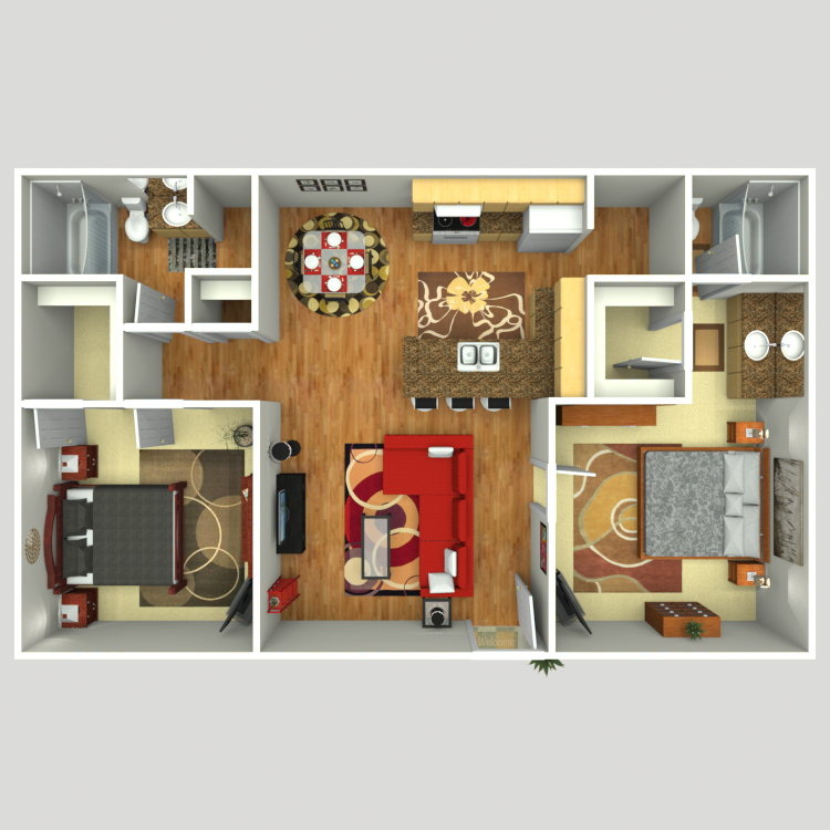 Floor plan image of The Eden