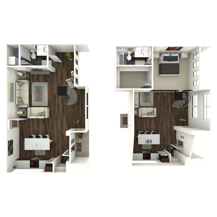 Floor plan image of W1 Loft