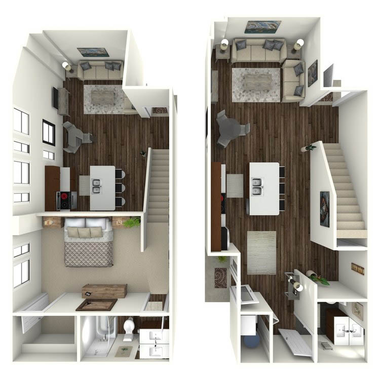 Floor plan image of W4 Loft