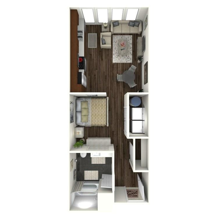 Floor plan image of U1(A) Urban