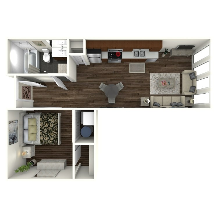 Floor plan image of U4 Midtown