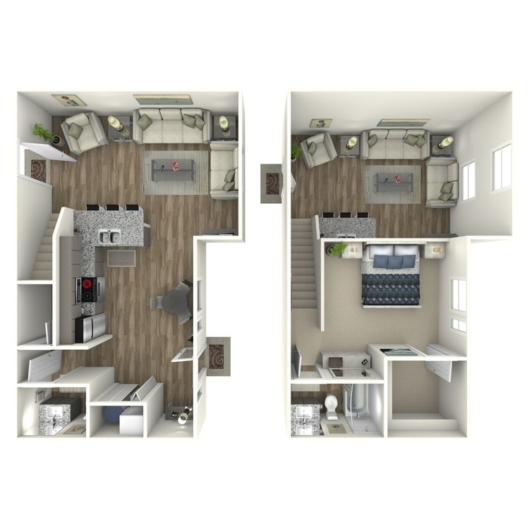 Floor plan image of W2 Loft