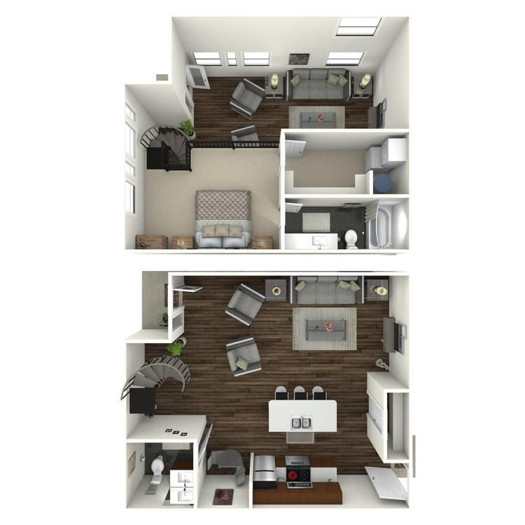 Floor plan image of W3 Loft