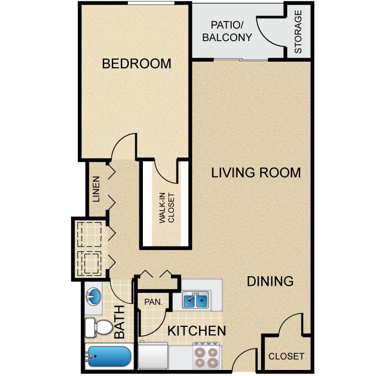 Floor plan image of A5