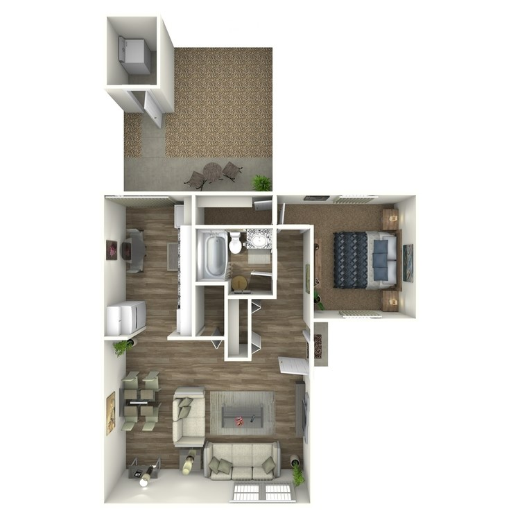 Floor plan image of 1 Bed