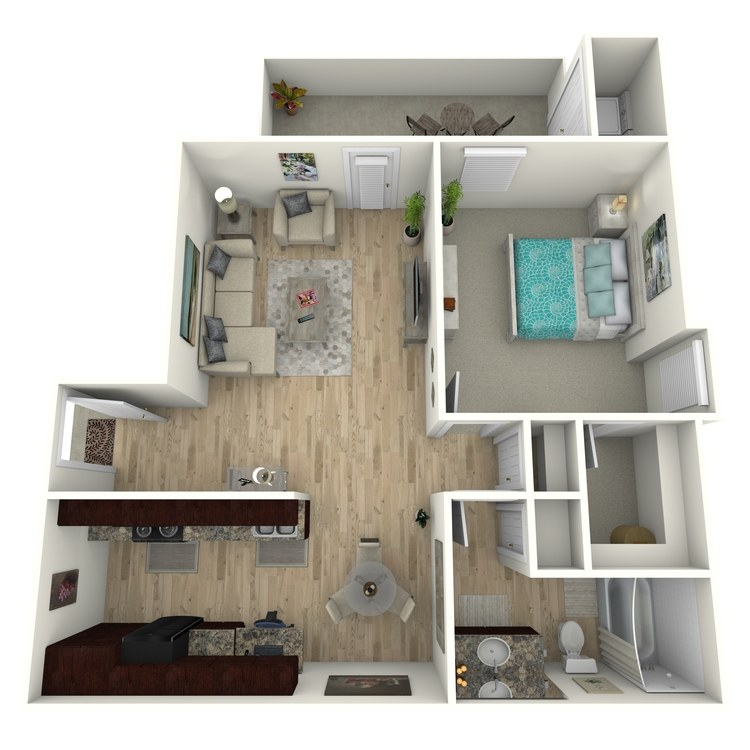 Floor plan image of A2E