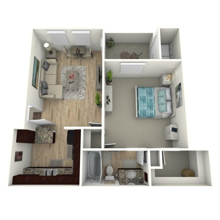 Floor plan image of A1E