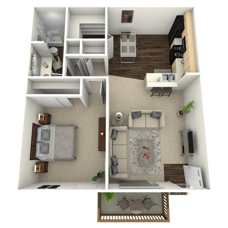 Floor plan image of Elm