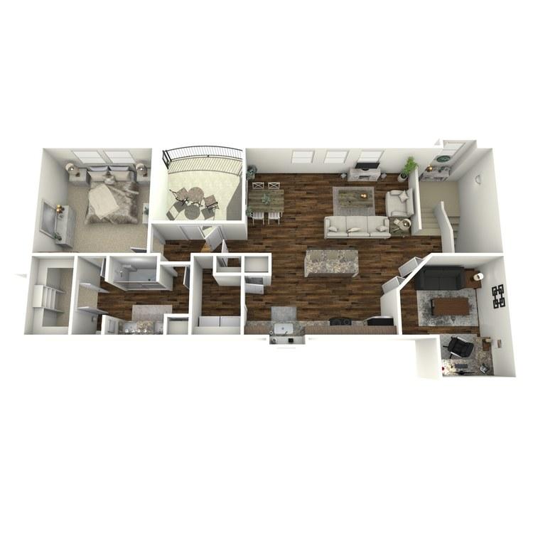 A7 floor plan image