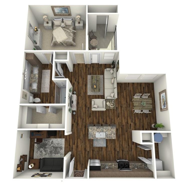 A4 floor plan image