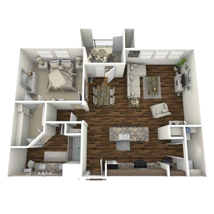 A5 floor plan image
