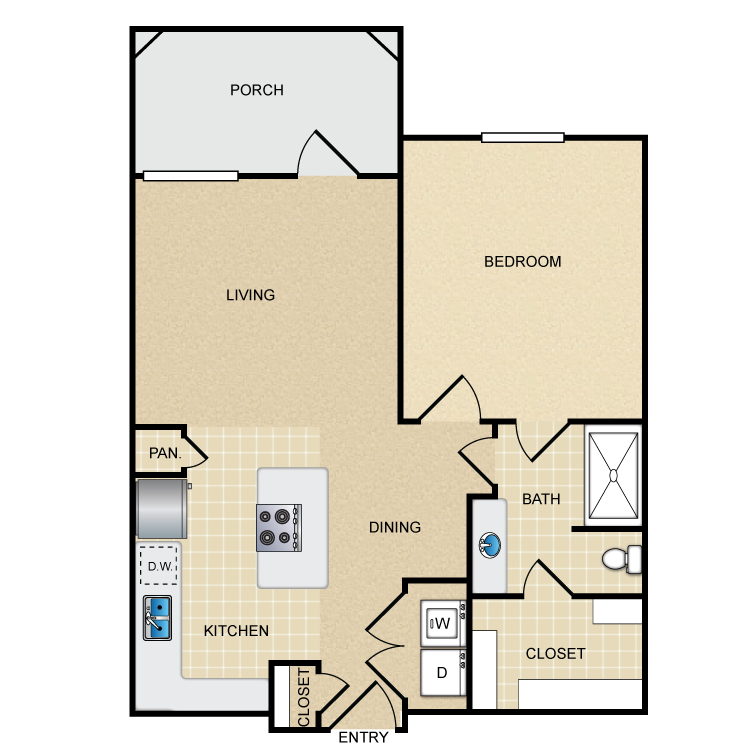Floor plan image of A1G