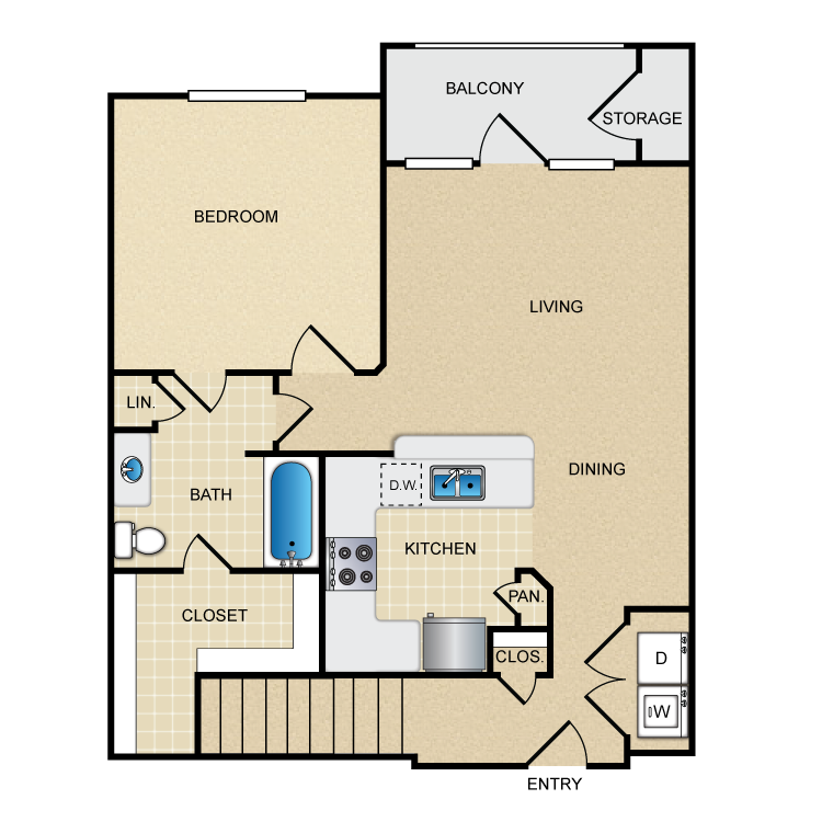 Floor plan image of A2G