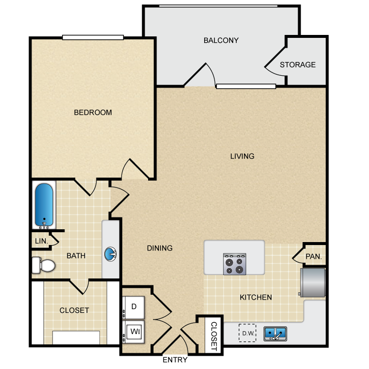Floor plan image of A3