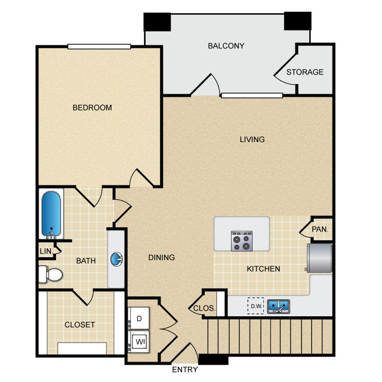 Floor plan image of A3G