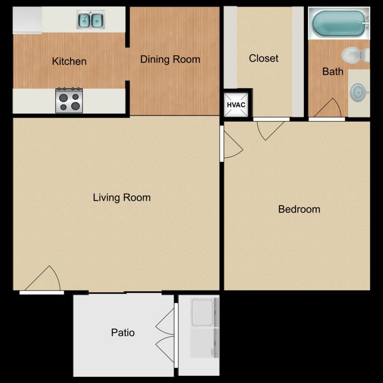 Blue Bonnet floor plan image