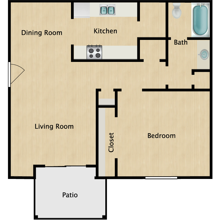 Floor plan image of The Oxford