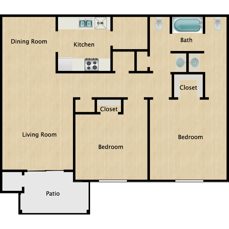 Floor plan image of The Ashton