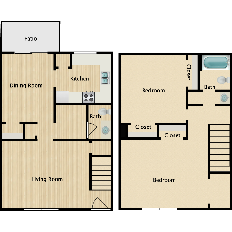 Floor plan image of The Kendall