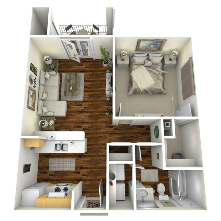 Floor plan image of Arlington