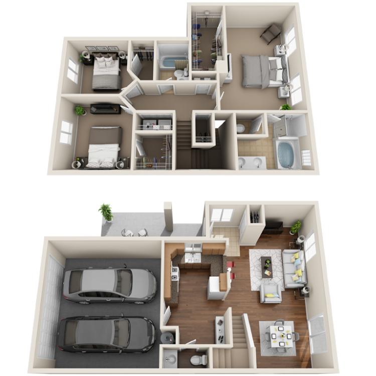 Floor plan image of Amber