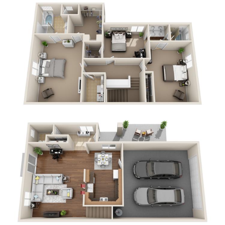 Floor plan image of Golden