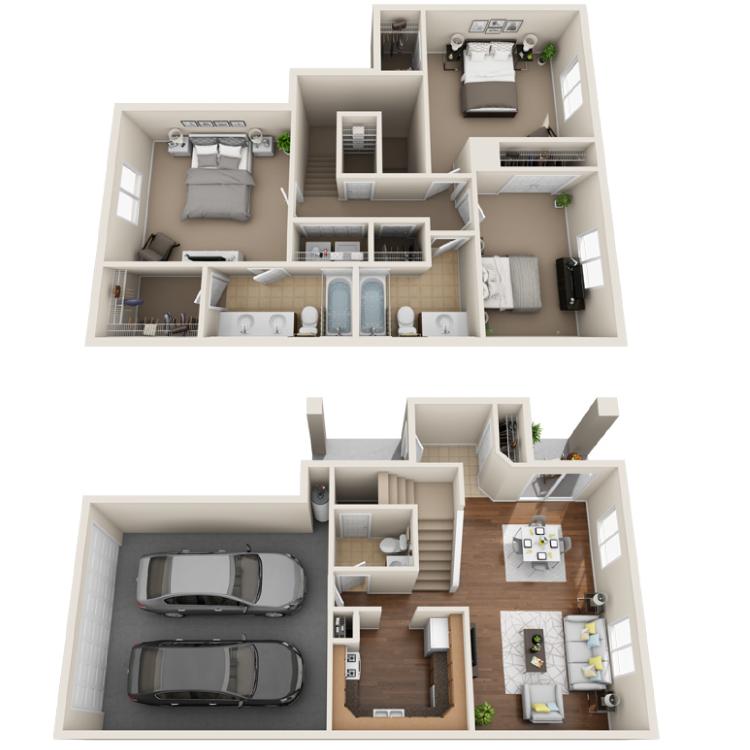 Floor plan image of Scarlet