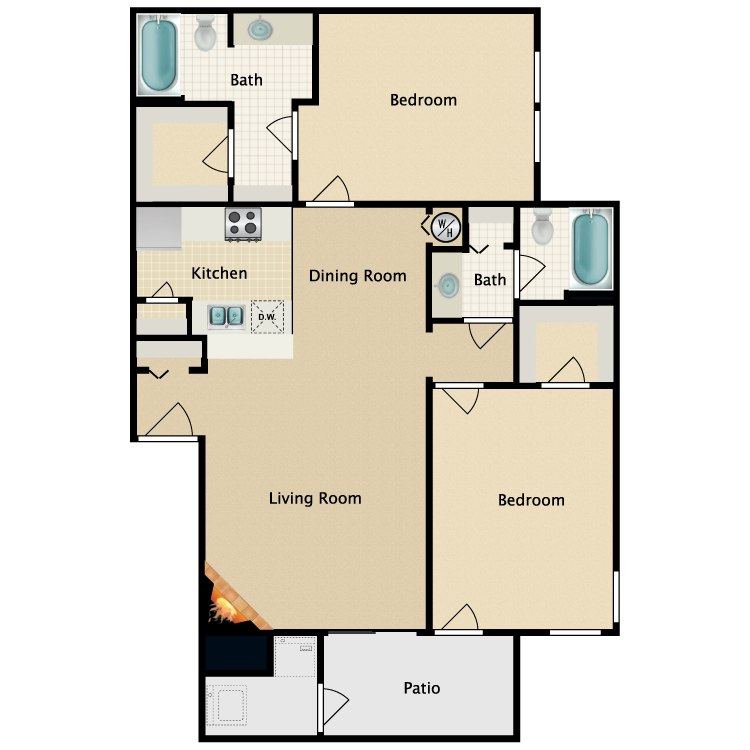 Floor plan image of The Mason