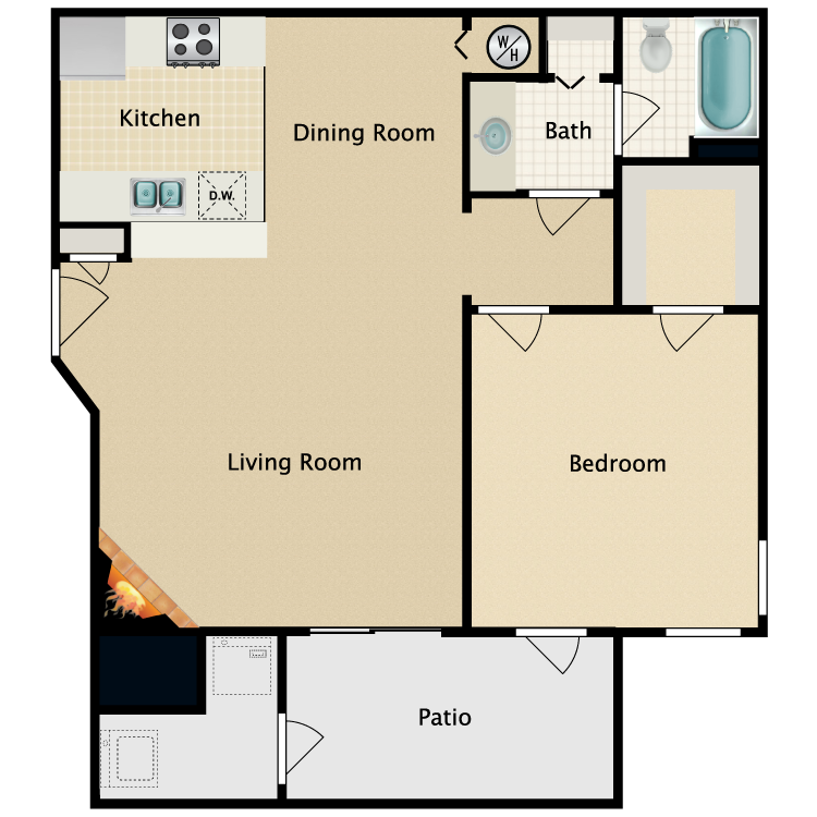 Floor plan image of The Windwood