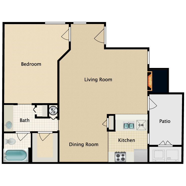 Floor plan image of The Winslow