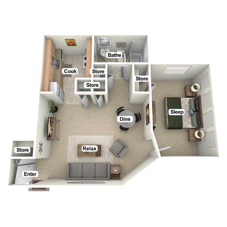 Floor plan image of Sun Room