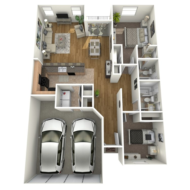 Floor plan image of Signature Townhome A