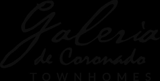 Galeria de Coronado Townhomes Logo
