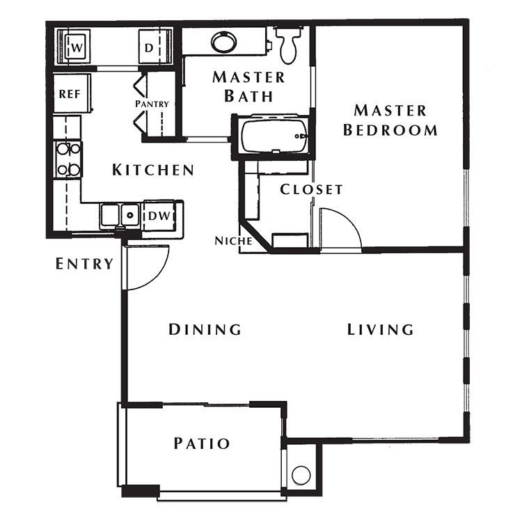 Floor plan image of Bandon Dunes