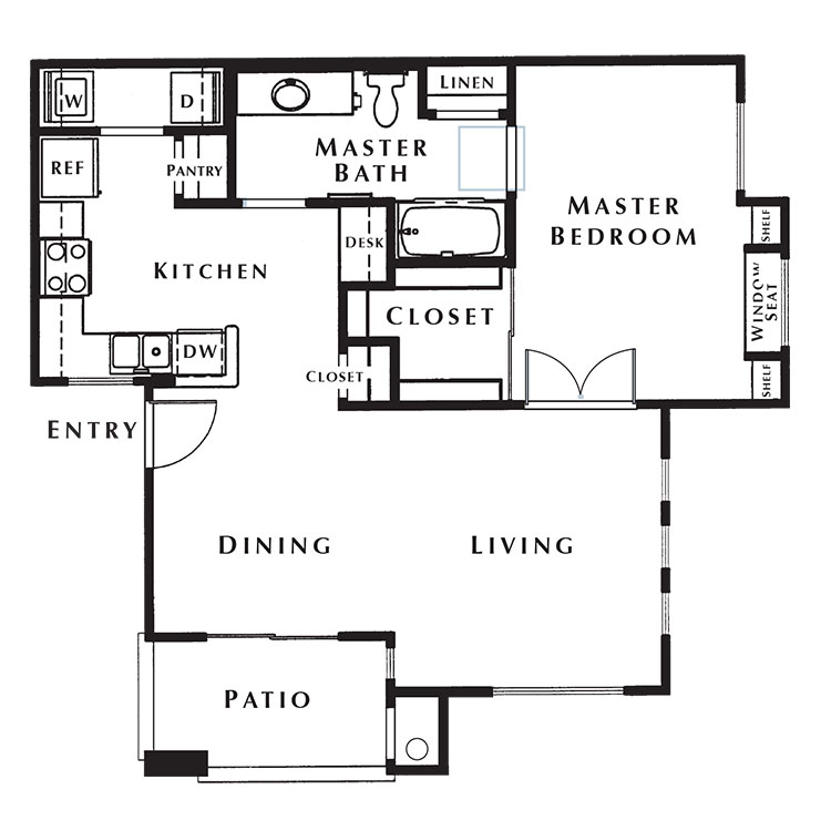 Floor plan image of Cherry Hill