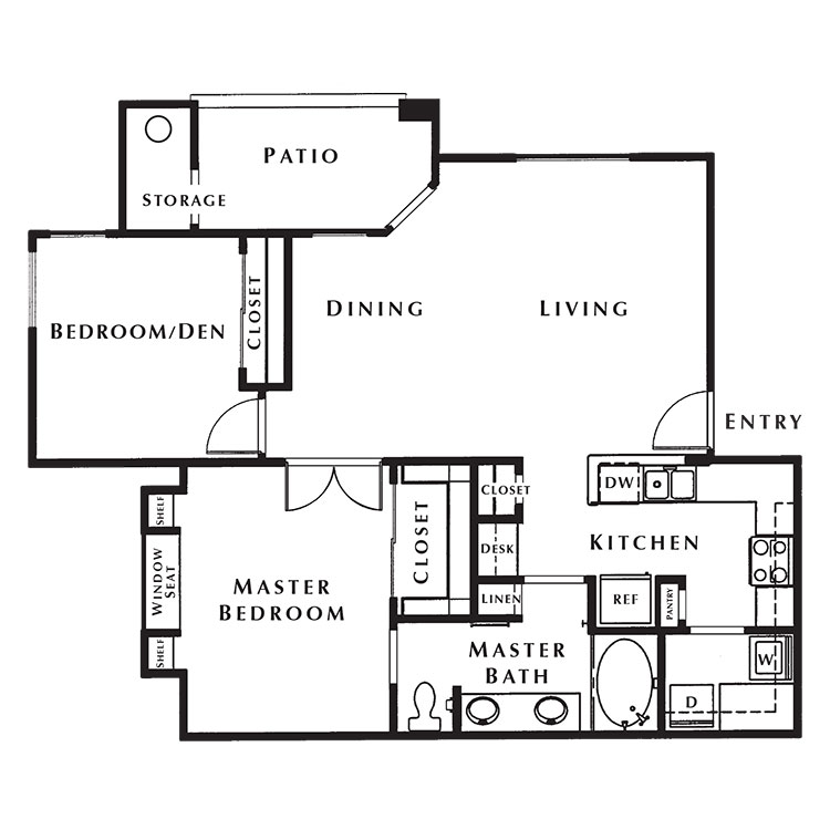 Floor plan image of Cypress Point