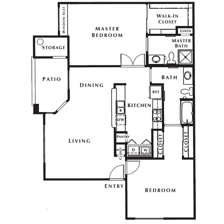 Floor plan image of Glen Abbey