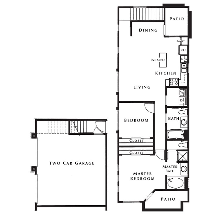 Floor plan image of Westchester