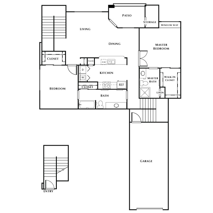 Floor plan image of Oakmont 3