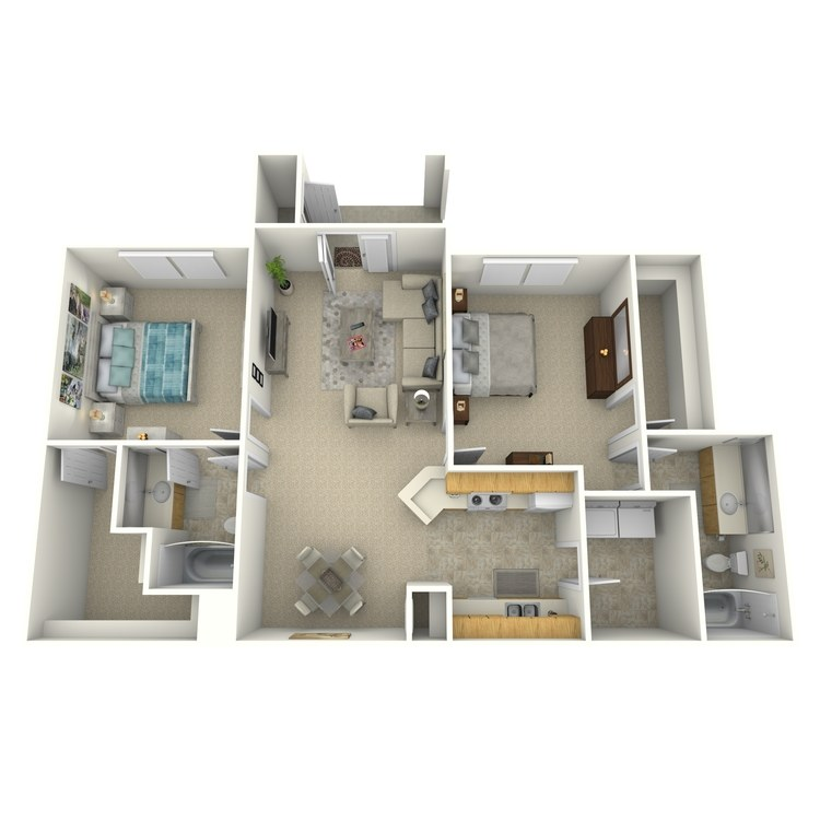 Floor plan image of Brevard