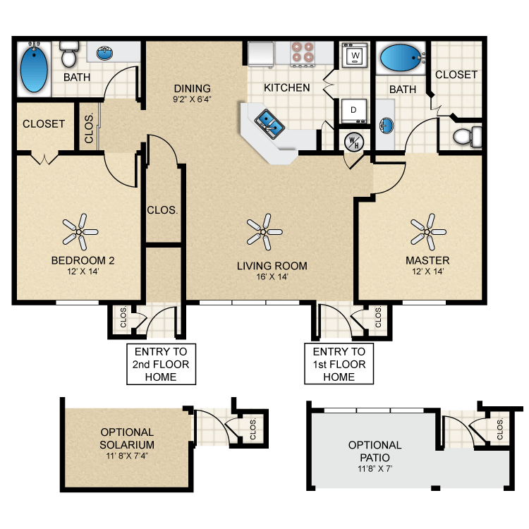 Floor plan image of Bungalow 1133