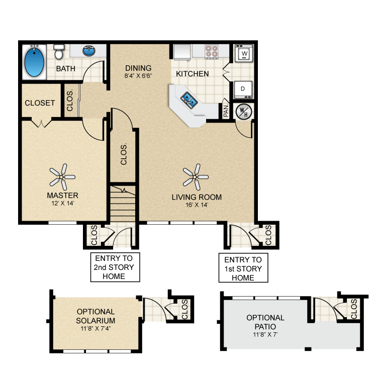 Floor plan image of Bungalow 833